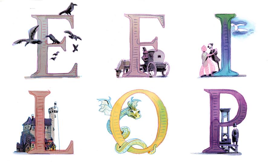 alfabeto 2 paura